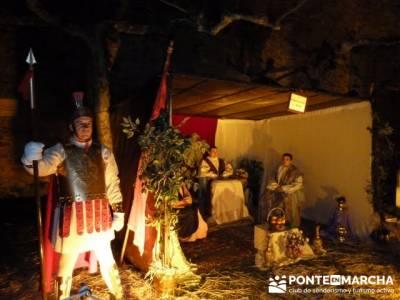 Senderismo Sierra Norte Madrid - Belén Viviente de Buitrago; senderos de almeria
